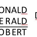 Donald gerald robert как решить