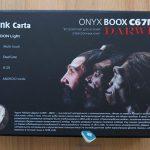 Onyx boox c67ml darwin обзор