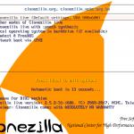 Clonezilla инструкция на русском