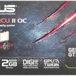 Asus gtx660 dc2o 2gd5 характеристики