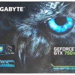 Gigabyte gtx 750 ti 2gb windforce