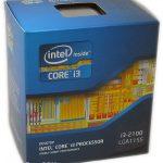 Dualcore intel core i3 2100