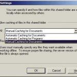 Offline files folder подключенные сетевые диски