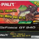 Palit gt240 512mb gddr3