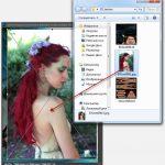 Photoshop как добавить изображение на слой
