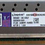 Kingston hyperx khx1600c9d3 4gx разгон