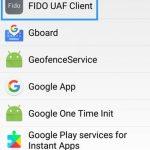 Fido uaf client что это