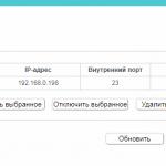 Port forwarding tp link