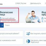 Http www nalog ru личный кабинет