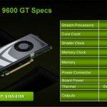 Nvidia geforce 9600 gt год выпуска