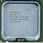 Intel celeron 331 характеристики