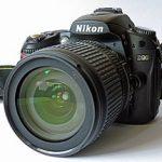 Nikon d90 размер матрицы