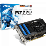 Msi radeon hd 7770 1gb