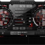 Msi afterburner как понизить частоту видеокарты