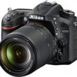 Nikon d7200 kit 18 105
