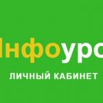 Info urok ru личный кабинет