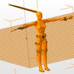 Blender 3d анимация персонажа