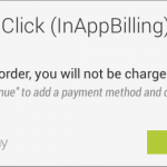 In app billing android