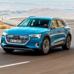 Audi e tron запас хода