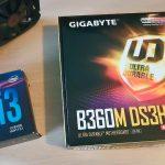 Intel core i3 8100 сборка пк