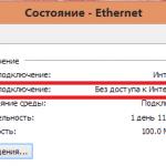 Ipv6 без доступа к сети windows 7