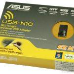 Asus usb n10 чипсет