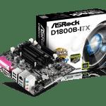 Asrock d1800b itx обзор