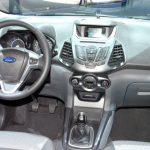 Ford ecosport объем багажника