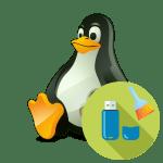 Linux как форматировать флешку