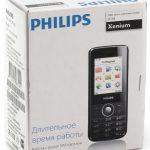 Philips xenium e116 обзор