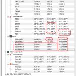 Intel core i3 2100 температура