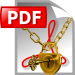 Pdf файл защищен паролем как снять