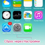 Iphone сбросить все настройки что делает