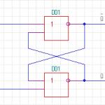 Jk триггер временная диаграмма