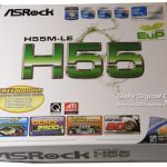 Asrock h55m le bios