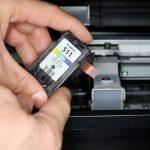 Canon mp250 не печатает после заправки