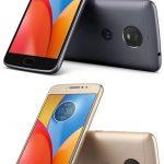 Motorola e4 plus камера