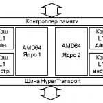 64 Битные процессоры amd