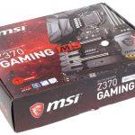 Msi z370 gaming m5 обзор