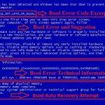 Crash dump синий экран windows 7