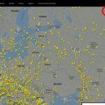 Flyradar online на русском по номеру рейса