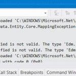 Entity framework создание базы данных