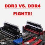 Ddr3 и ddr4 разница в играх