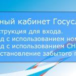 Gosuslugi ru вход для портала госуслуг