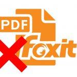 Foxit reader как удалить страницу