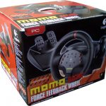 Logitech momo racing force feedback wheel характеристики