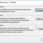 Outlook 2007 где хранятся письма