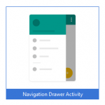 Navigation drawer android studio
