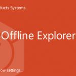 Offline explorer enterprise как пользоваться