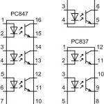 Pc 17k1 оптопара схема включения